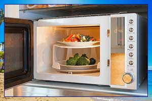 Microwave repair by Honolulu Appliance Pepair Pro.