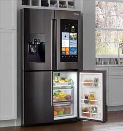 We do refrigerator repair.